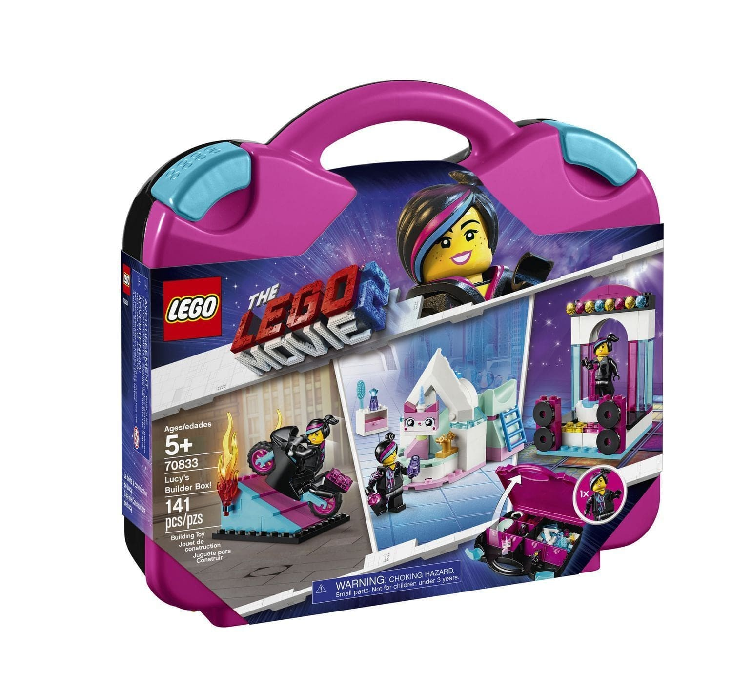 LEGO®Movie Lucy's Builder Box!-70833 lego