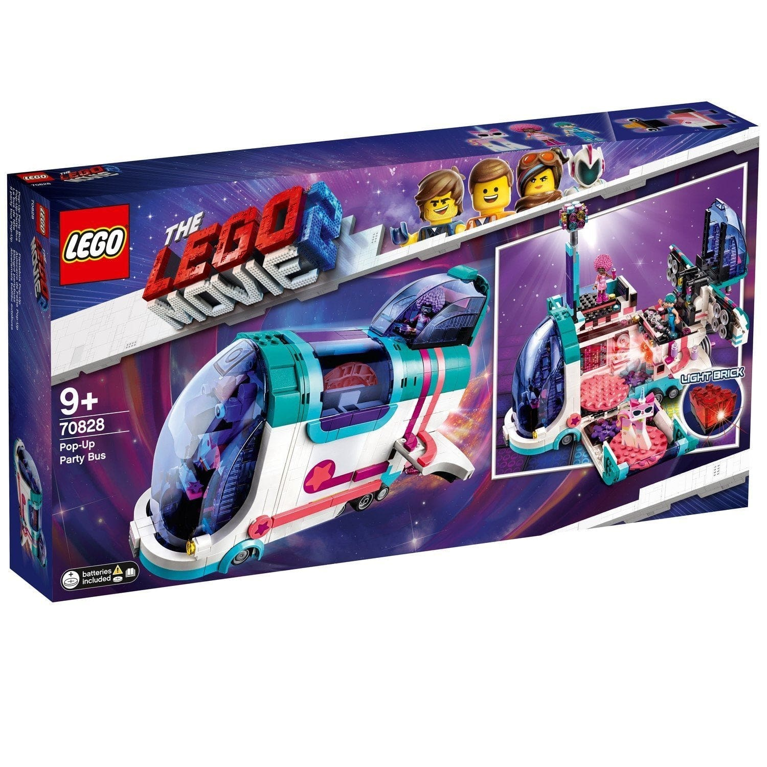 LEGO®Movie Pop-Up Party Bus-70828 lego