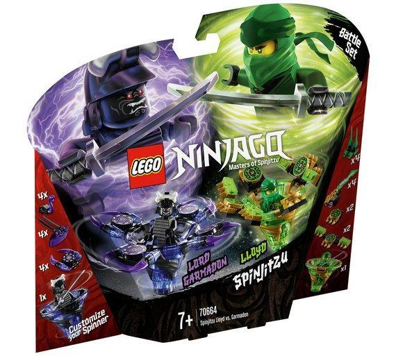 Lego ninjago spinjitzu loyd vs garmadon 70664 exclusivebrandsonline - Ninjago vs ninjago ...