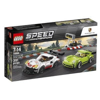 LEGO® Speed Champions Porsche 911 RSR and 911 Turbo 3.0- 75888