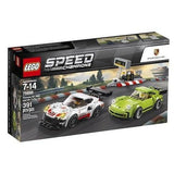 LEGO® Speed Champions Porsche 911 RSR and 911 Turbo 3.0- 75888 lego