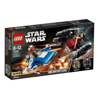 LEGO® Star Wars TM A-Wing™ vs. TIE Silencer™ Microfighters-     75196