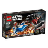 LEGO® Star Wars TM A-Wing™ vs. TIE Silencer™ Microfighters-75196 lego