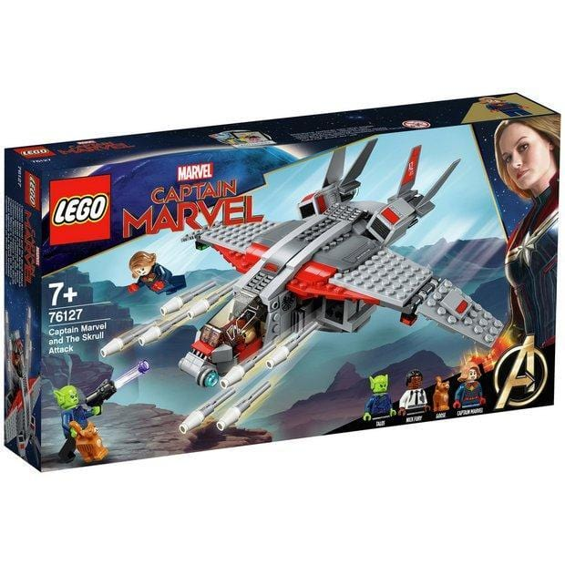 Lego®Super Heroes Captain Marvel and The Skrull Attack- 76127 Lego