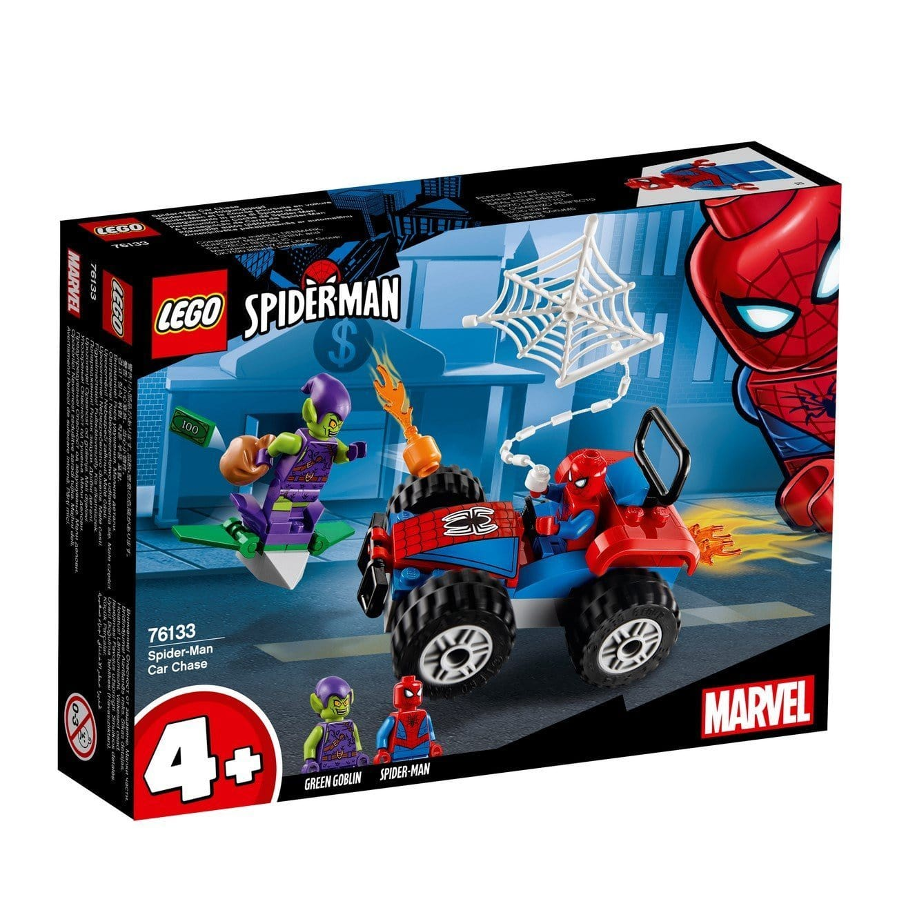 Lego®Super Heroes Spider-Man Car Chase- 76133 Lego