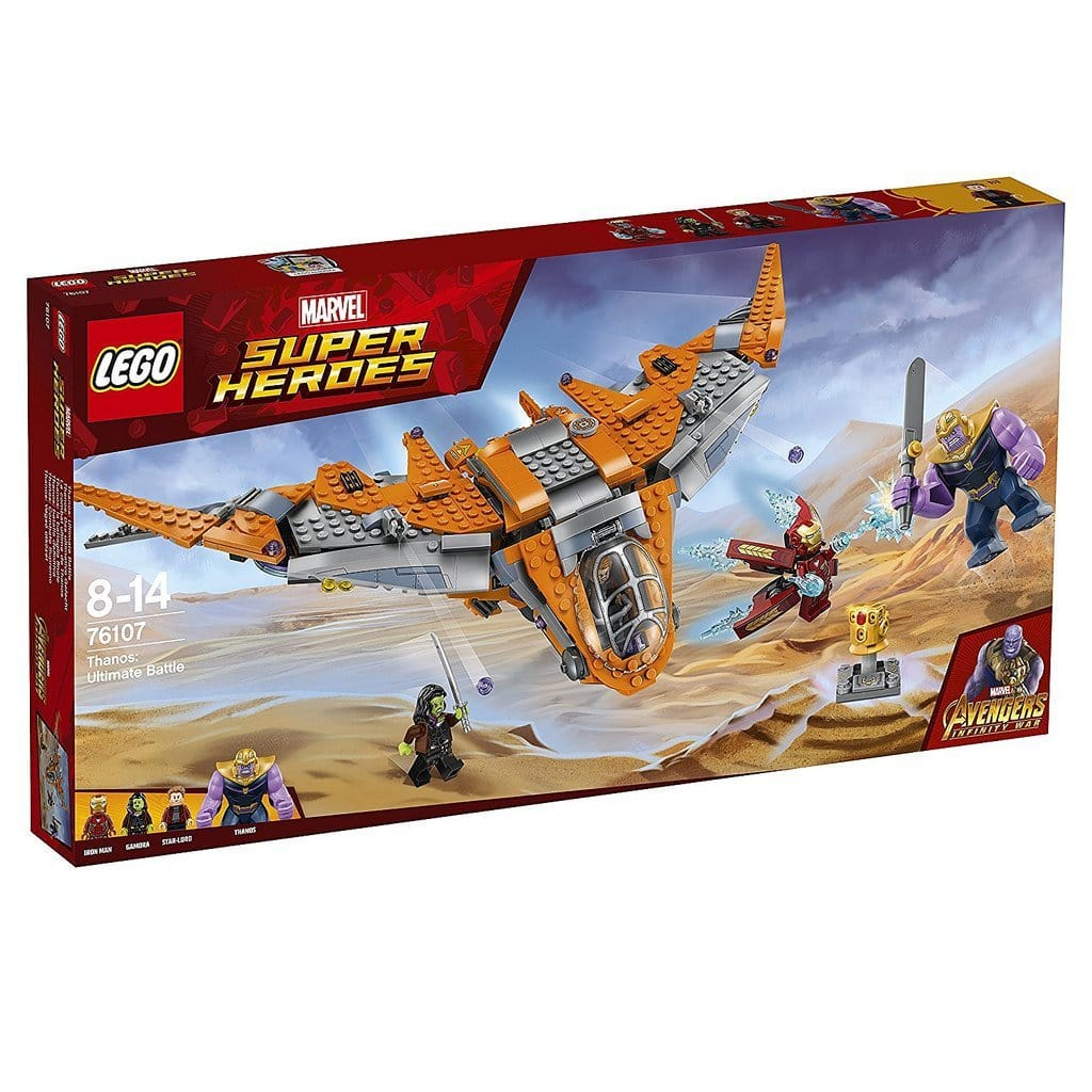 LEGO® Super Heroes Thanos: Ultimate Battle-76107 lego