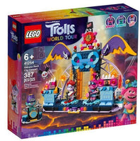 LEGO® Trolls World Tour Volcano Rock City Concert 41254