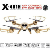 MJX401 -GOLD Quad Copter Drone WIfi Camera