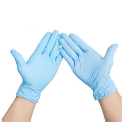 MX Ultra Nitrile Latex Free / Allergy Free Gloves Pack Of 100 - Blue Exclusivebrandsonline