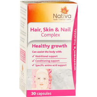 Nativa Hair, Skin & Nails Complex 30