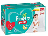Pampers Active Baby Pants Junior Size 5 Mega Box 100's