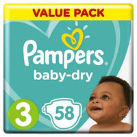 Pampers Active Midi 58's