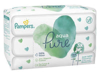 PAMPERS BABY WIPES AQUA REFILL 48'S 3PK