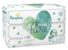 PAMPERS BABY WIPES AQUA REFILL 48'S 3PK Helderberg Medical