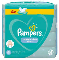 PAMPERS BABY WIPES FRESH 64'S 4PACK
