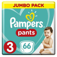 Pampers Jumbo Pack Size 3 66 Pants