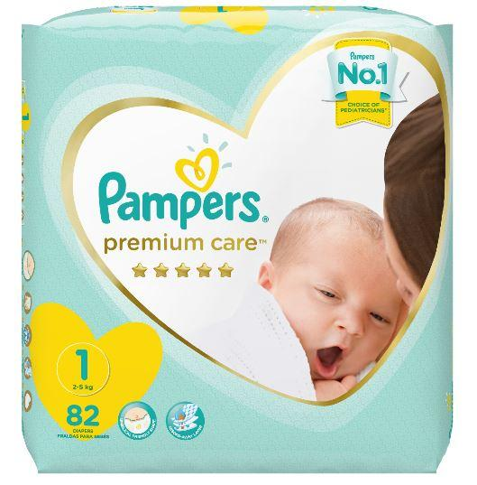 Pampers Premium Care New Born Value Pack 82's Helderberg Medical