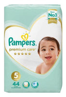 Pampers Premium Care Size 5 Value Pack 44 Nappies