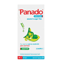 Panado Infant Drops Peppermint 20ml