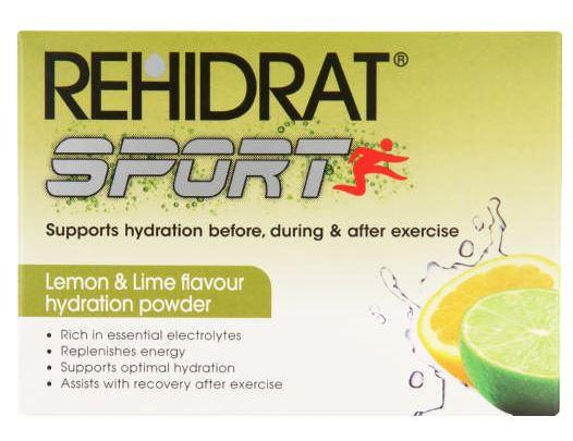 Rehidrat Oral Electrolyte Mixture Lemon & Lime 14g x 20 sachets Helderberg Medical