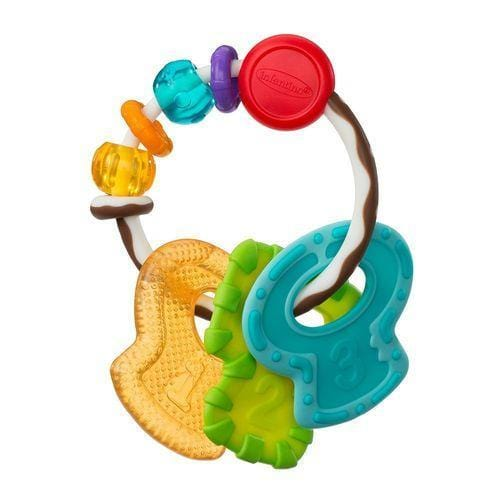 Soft Beginnings Whizzy Rattle- 3 Best Pals Teether Key Exclusivebrandsonline