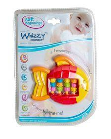 Soft Beginnings Whizzy Rattle Teether -Roller Fish Exclusivebrandsonline