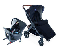 Stylego Up Crossover & Oasys i-size Bebecare Travel System – Black