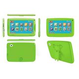 "V2: 7""Android 5.1 Tablet for Kids & Self-Standing Silicone Cover- Green Exclusivebrandsonline"