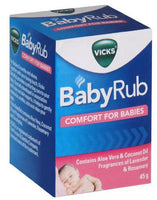 Vicks BabyRub Comfort For Babies 45g