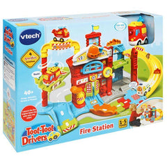 VTech Toot-Toot Drivers Fire Station Prima Toys