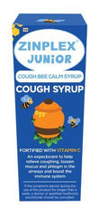 Zinplex Junior Cough Bee Calm Syrup 200ml Helderberg Medical
