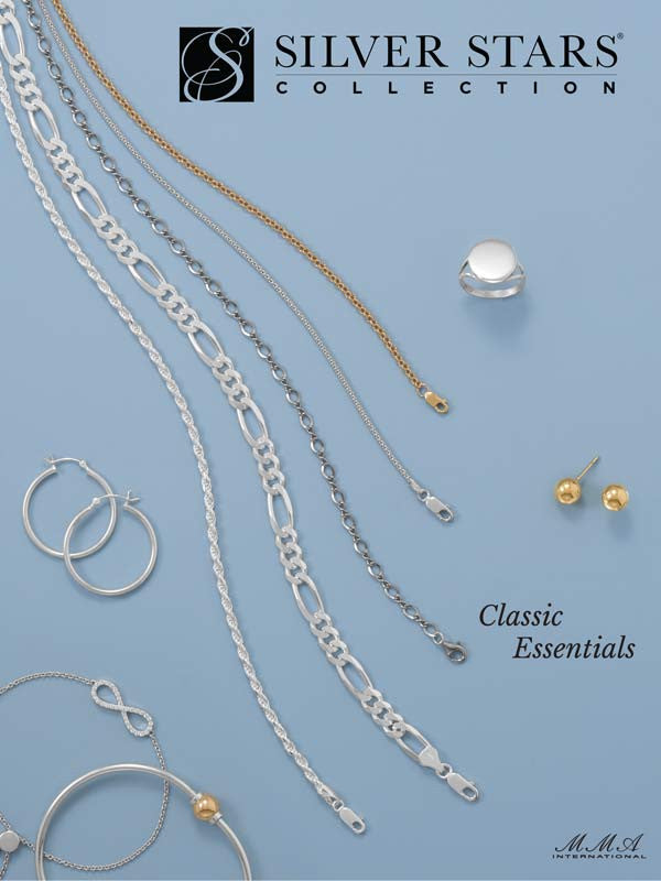 catalogs wholesale silver jewelry silver stars collection