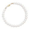 "8"" 5-5.5mm Cultured Freshwater Pearl Bracelet"