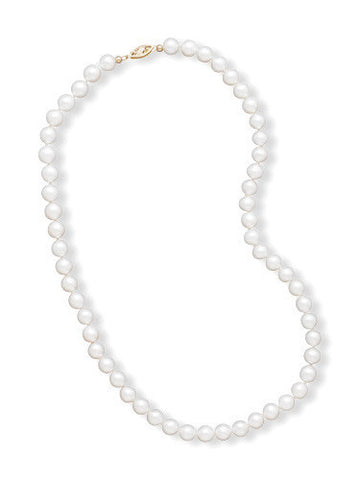 "20"" 6.5-7mm Cultured Freshwater Pearl Necklace"