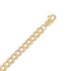 "7"" 14/20 Gold Filled Small Charm Chain Bracelet"