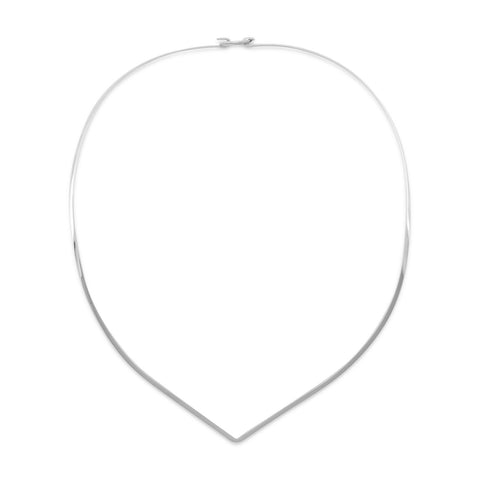 "16"" 2mm ""V"" Collar with Closed Back"