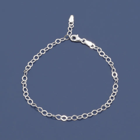 Flat Diamond Shape Link Chain