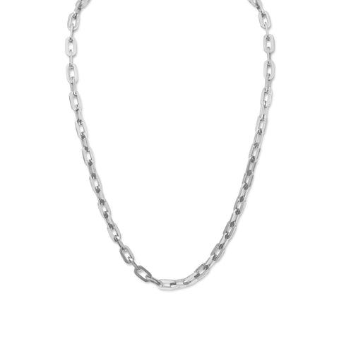 "22"" Stainless Steel Link Necklace"