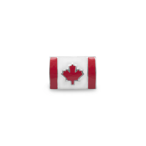 Canadian Flag Bead