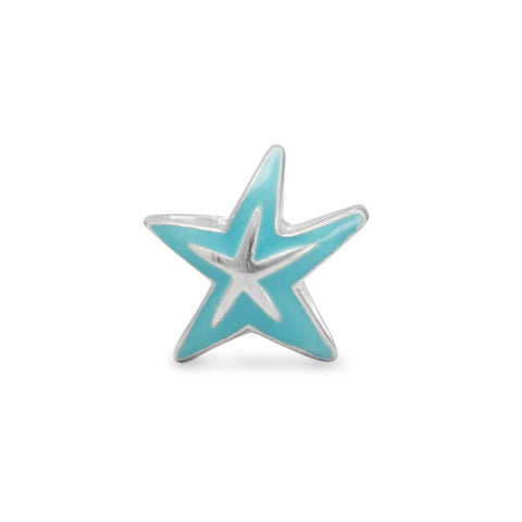 Blue Starfish Bead