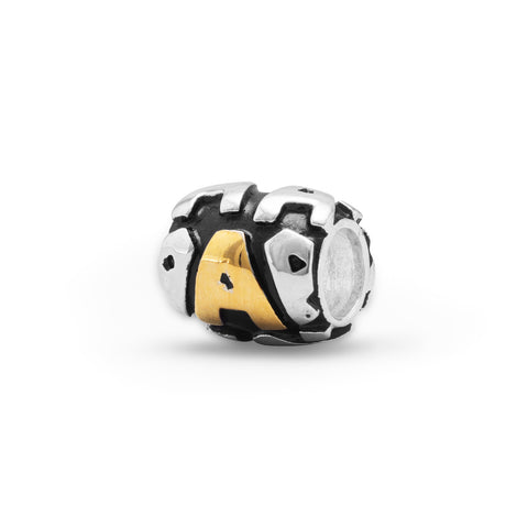 "Two Tone ""A"" Bead"