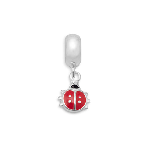 Lady Bug Charm Bead