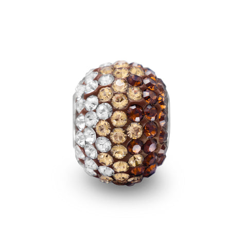 Fading Brown Crystal Bead