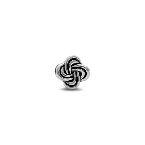 Oxidized Celtic Knot Bead
