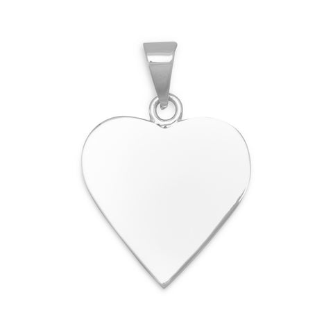 Engravable Heart Tag