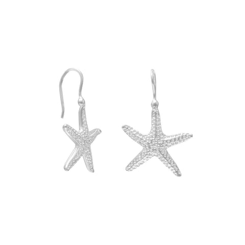 Starfish Wire Earrings