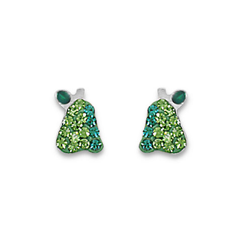 Crystal Pear Earrings