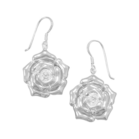 Polished Flower Earrings