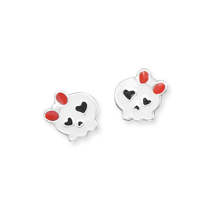 Cute Skull Stud Earrings