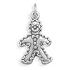 Gingerbread Man Charm